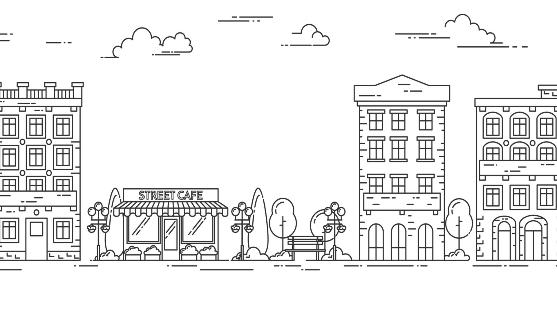 街イラスト