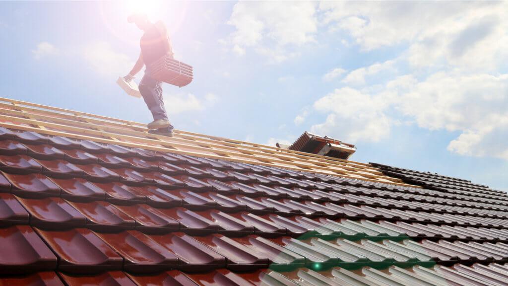 屋根修理写真
